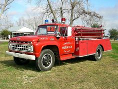 1960's fire truck - Google Search