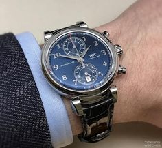 IWC Da Vinci Chronograph Laureus Edition