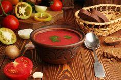 Letná polievka Gaspacho
