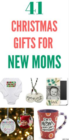 Christmas Gifts For New Moms