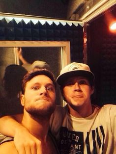 Niall and Jamie today