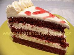 Velvet Cake, Red Velvet, Czech Recipes, Ethnic Recipes, Croatian Recipes, Vanilla Cake, Christmas Holidays, Cheesecake, Food And Drink