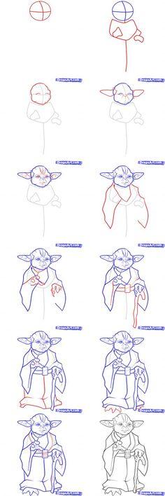 star wars drawing tutorials - Google Search