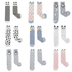 Children Knee High Long Socks For Kids Baby Girls Boys Print Cat Fox Winter Cotton Striped Cartoon Cute Socks #>=#>=#>=#>=#> Click on the pin to check out discount price, color, size, shipping, etc. Save and like it!
