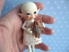 Spielzeug TOY für RealPuki BJD Puppe OOAK  3 cm von NiceMiniThings