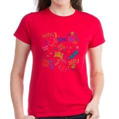 Lost Kitty Womens Dark T-Shirt