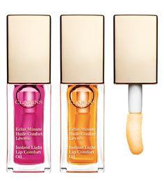 Spring Makeup Collection 2015 #Clarins Eclat Minute Huile Confort Lèvre #LipOil