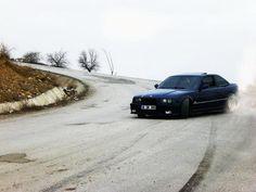 BMW E36 M3 DOWNHILL DRIFT