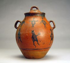 Tesuque Lidded Jar, ca. 1885. Native American.
