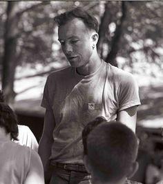 Pete Seeger at Camp Woodland, Phoenicia, New Yok, circa Pete Seeger, Folk Music, Libraries, Teaching Kids, 1940s, Woodland, Singing, Archive, University