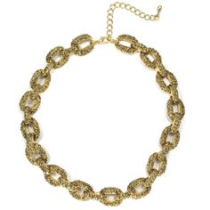 Gold Chunky Necklace - Necklaces