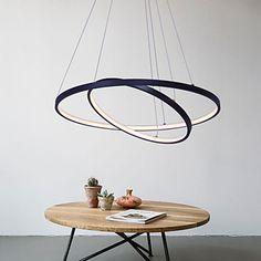 Moderne/Contemporain Intensité Réglable LED Lampe suspendue Lumière d'ambiance Pour Salle de séjour Salle à manger Bureau/Bureau de