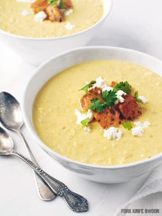 Spicy Corn and Pepper Bisque - Fork Knife Swoon - Fork Knife Swoon