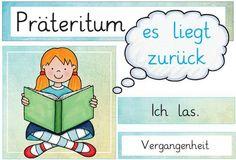 Nathan saved to gardenAushänge Zeitformen - German Resources, Deaf Children, School Children, Montessori Education, Monologues, German Language, School Hacks, School Organization, Education Quotes