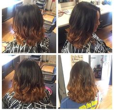 Carmelized ombre