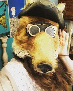 """#foxface #mask #foxmask #costumedepartment #WAOUUUU"""