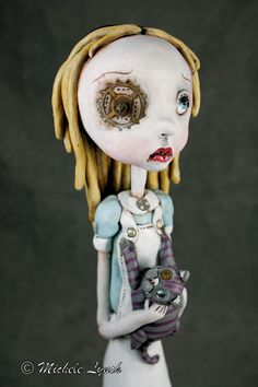 One of a Kind Pop Surrealism Art Doll Alice in by michelelynchart, $245.00