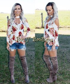 Floral Chic Top