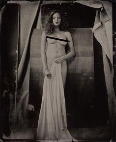 Classical Beauty #classical #beauty #portrait #collodion #carlofurgerigilbert #nude © Carlo Furgeri Gilbert 2015