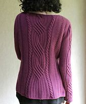 Ravelry: Piper pattern by Carol Sunday Pullover, Cable Knit Sweaters, Sweater Cardigan, Free Pattern, Knitting Patterns, Knit Crochet, How To Wear, Ravelry, Sunday