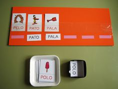 El baúl de A.L: Materiales de elaboración propia Spanish Activities, Learning Activities, Activities For Kids, Speech Language Therapy, Speech And Language, Country Day School, Autism Teaching, Learning Through Play, Literacy Centers