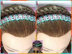 YouTube Braid Styles, Hair And Nails, Braided Hairstyles, Braids, Female Hair, Beauty, Youtube, Bag, Amor