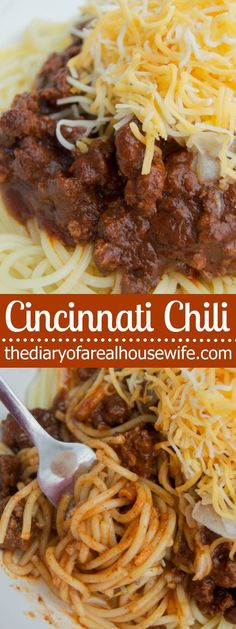 My all time favorite chili with you, Cincinnati Chili. I grew up on this chili and this recipe for me was pretty darn close to the real stuff. TRY IT!