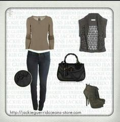 Casual outfit, woman outfit, daily outfit. Thinking dark color jewelery maybe black but not too rock n roll