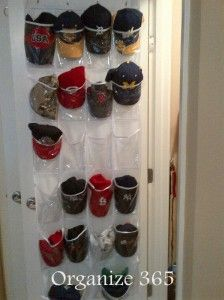 1000 ideas about organize hats on pinterest hat for Baseball hat storage solutions