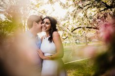 Pin for Later: Elegant Meets Adorable in These Artsy Engagement Photos