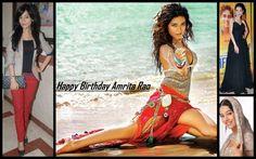 Amrita Rao is celebrating her Birthday today.  Wishing her a very HAPPY B'DAY!!