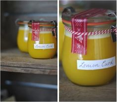 Lykkelig - mein Foodblog: Noch mehr Weihnachtsgeschenke aus der Küche: Cremigster Zitronen-Aufstrich!