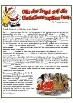Handout, Learn German, Kindergarten, Learning, School, Winter, Weihnachten, Language, Kindergartens