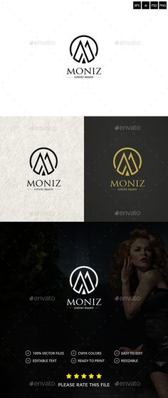 Letter M Logo — Photoshop PSD #technology #letter m • Available here → https://graphicriver.net/item/letter-m-logo/17417785?ref=pxcr