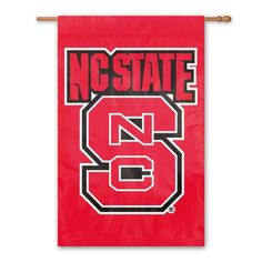 NC State Wolfpack Banner Flag, Multicolor
