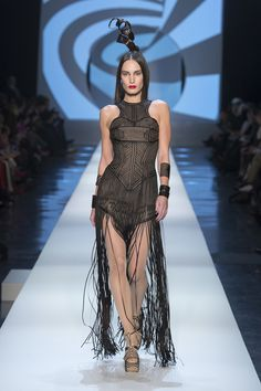 Jean Paul Gaultier Spring 2018 Couture Fashion Show Collection
