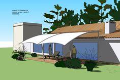 Roof Architecture, Concept Architecture, Gazebo, Sketch, Outdoor Decor, Home, Terrace, Facades, Uruguay