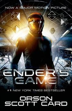 """""""Ender's Game"""" is an admirable adaptation of the classic science fiction novel Book Club Books, The Book, Book 1, Good Books, Books To Read, Book Clubs, Amazing Books, Ya Books, It's Amazing"""