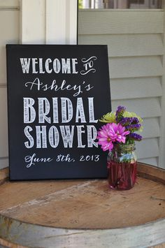 Ashley's Sonoma Style Bridal Shower - Details