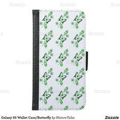 Galaxy S6 Wallet Case/Butterfly