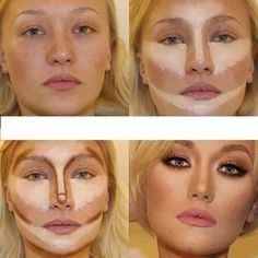 10 Incredible Makeup Contour Transformations#photo=1#photo=1#photo=1