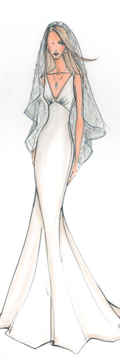 Bridal Fashion Illustration