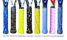 AlienPros range of colourful overgrips