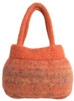 Felted Wool Handbag This Is A Great Basic Shape Free Pattern