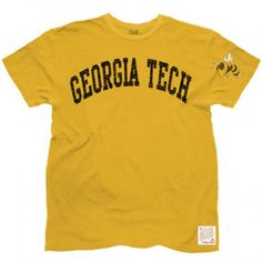 Georgia Tech Yellow Jackets Men's Short Sleeve Tee