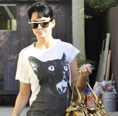 Katy Perry cat tee (oh, and did you know she has two fragrances, Purr and Meow?)