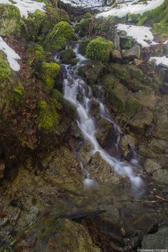 waterfalls winter by tremmel thomas on 500px