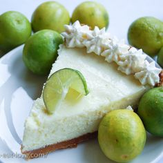 Advertised as Best Key Lime Pie, recipe shared on the Oprah show.