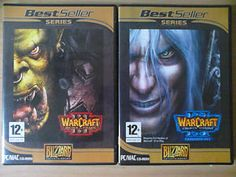 Warcraft III Reign of Chaos & Warcraft III Frozen Throne Expansion Set PC Game