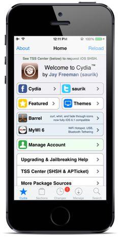 Learn Hack Software Cydia iOS 7